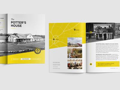 Atlanta Mission - The Potter's House Brochure