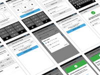 Wireframing a new app version