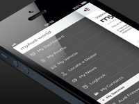 myAudi Mobile Portal