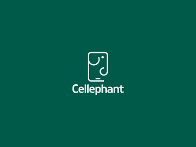 Cellephant cell phone iconography icon design elephant mobile design mobile cellphones carrier cellphone icon daily logo illustration daily logo challenge branding designer logo a day logotipo logotypedesign logotype branding design branding