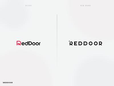 RedDoor New Brand redesign brand evolution rebranding new brand new logo design logo logotype branding design branding