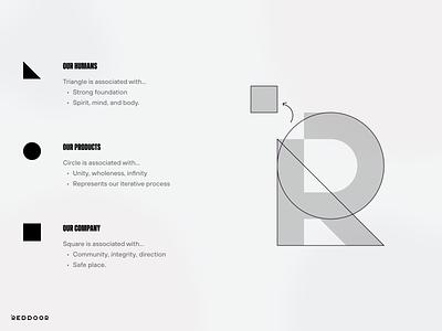 RedDoor Branding Concept logotipo logo graphic design logotype design branding design branding