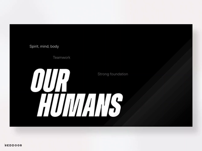 Introducing RedDoor New Branding animation motion graphics graphic design design logo logotype logotipo branding design branding