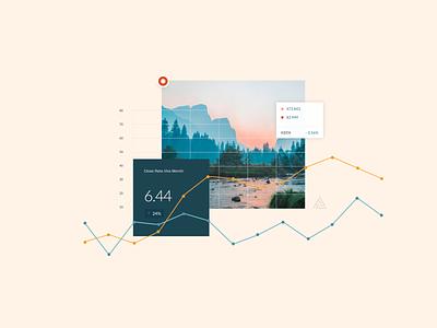 Data Viz Vignette chart web data graph ui visual design dataviz