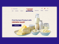 Crown dairy redesign concept