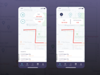 Track App Screen