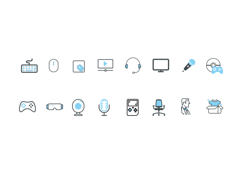 Icons for e-store app
