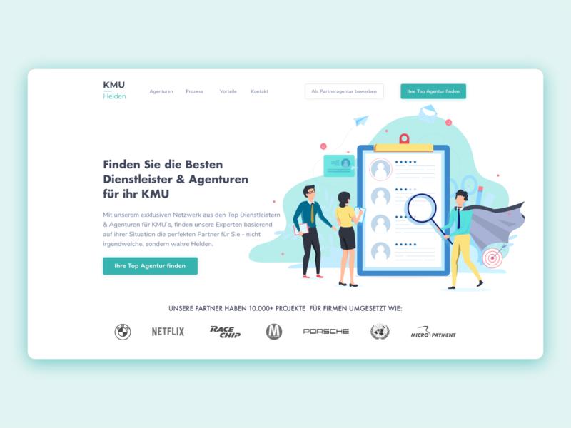 Company Web UI