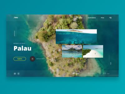 Palau - Landing page Web UI