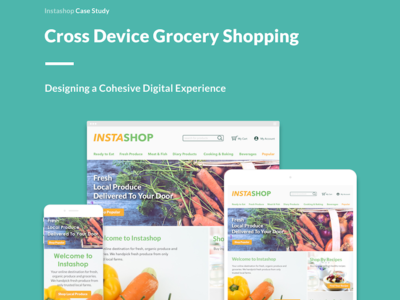 Cross Device Grocery Shopping Experience Design
