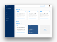 Project Management Tool Dashboard Design