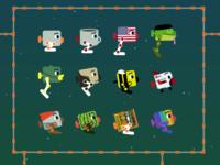 Squatbot Skins Sample