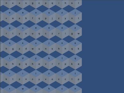 Hexagon Cubes