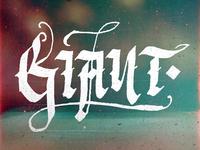 Calligraphy Giant