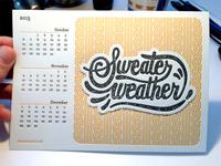 Sweater Weather print