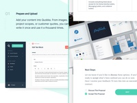 Quokka Features freelance tools proposal template proposal project proposal business freelance pricing quotes quote client quote saas tools saas freelancing focus lab proposals quokka proposals quokka