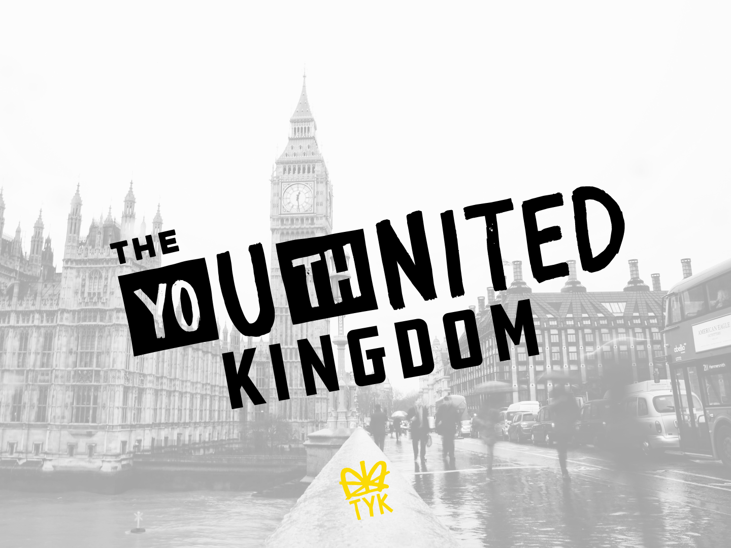 The Youthnited Kingdom typography lettering logomark branding logo