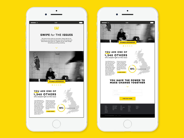 The Youthnited Kingdom   Issue Area Platform social justice social good community social website concept website app concept app ui app web logo uidesign ui  ux design ui  ux ui