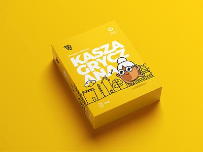 Janczaki - Millet brand - buckwheat app branding package janczaki logo identity design print illustration animation intervi
