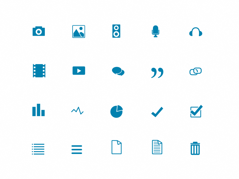 Dashboard UI Icons icons illustration system dashboard blog flat 2d ui
