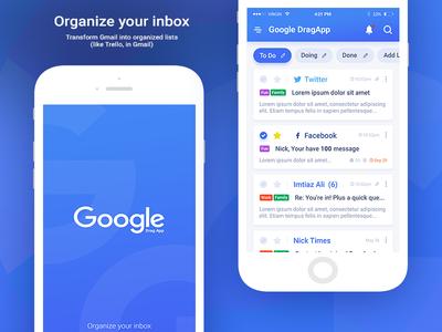 Google Drag Organize Your Inbox