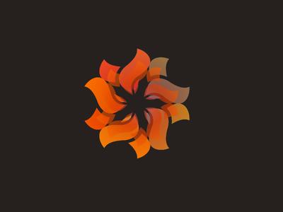 Flower Logo abstract logo flower