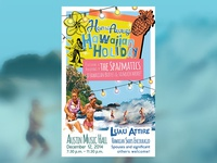 HomeAway Hawaiian Holiday Party Poster