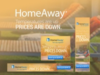 HomeAway Flash Sale Banner Ads