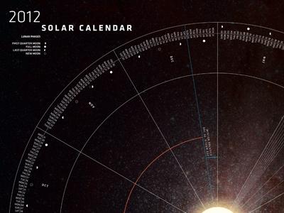 Solar Calendar by Matthew Perdue | Dribbble | Dribbble