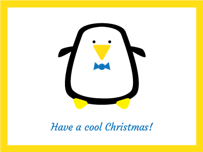 Xmas2012 penguin dribbble