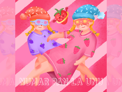 CD封面-NUMAR PAN LA UNU illustration