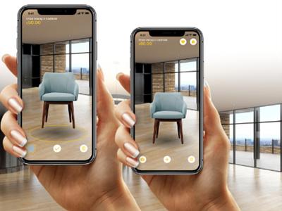 furnitAR AR app adobeawards xd nevenesto android ios furniture ar