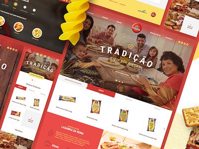 Fortaleza - Responsive Webdesign responsive institutional food website uidesign ui