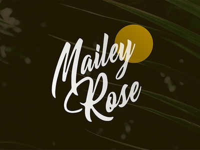 Mailey Rose Logo Concept