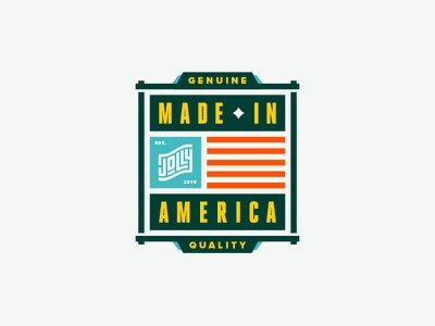 MADE IN AMERICA™ #2 usa icon logo badge made in usa made in america