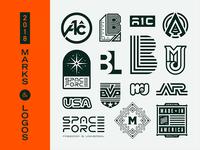2018 Marks & Logos
