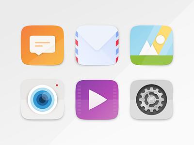 Suru App Icons 2 ubuntu icons