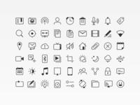 Suru Mono Icons