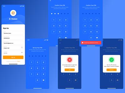 Wallet Mobile App UI wallet coin crypto illustration design website user interface mobile app dashboard