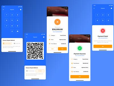 Wallet Mobile App UI ui illustration design website user interface mobile app clean