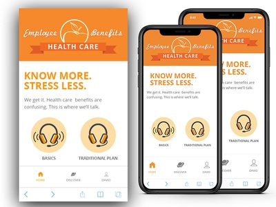 Fitness App Screen with IPhone xs mockup psd