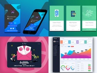 Best of my 2018 according to dribbble