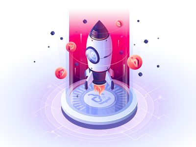 Save Time Onboarding code coder isometric scifi space rocket engineer computer