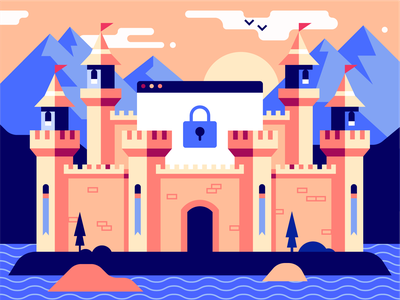Security Meets Productivity environment protect castle code ide lock safety security