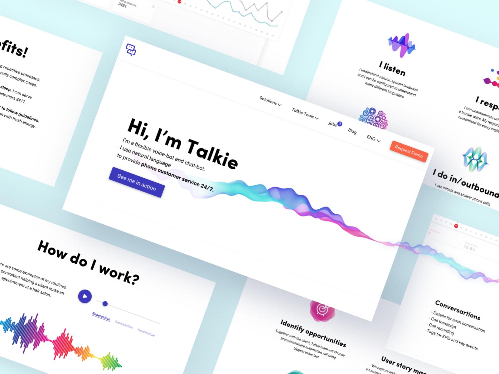 Talkie bot by Julia Turubanova on Dribbble