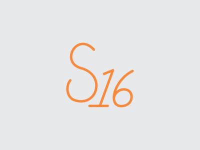 S16 Monoline Script