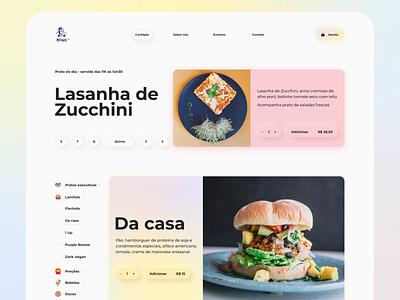 King Vegan website ecommerce food web webdesign web design vegan unsplash photography interface website typography ui