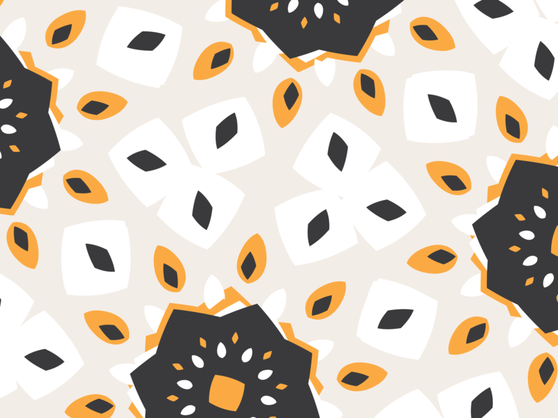 aicó - pattern vector illustration art direction branding