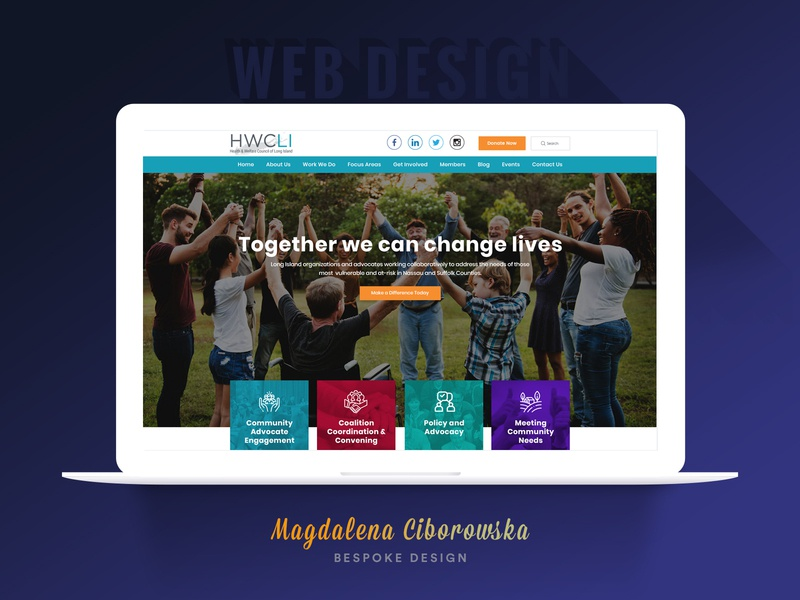 Community Organization Website