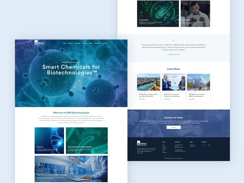 Biotechnologies Website